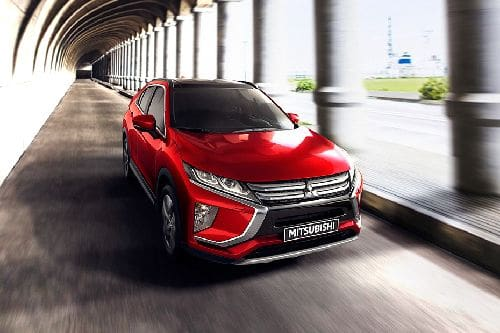 Eclipse Cross Front angle low view
