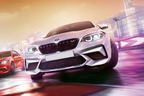 Tampak Depan BMW M2 Competition