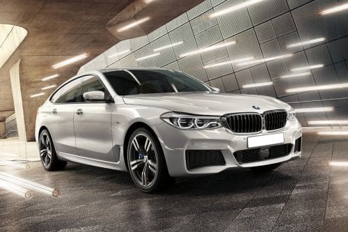 BMW 6 Series GT Front Cross Side View