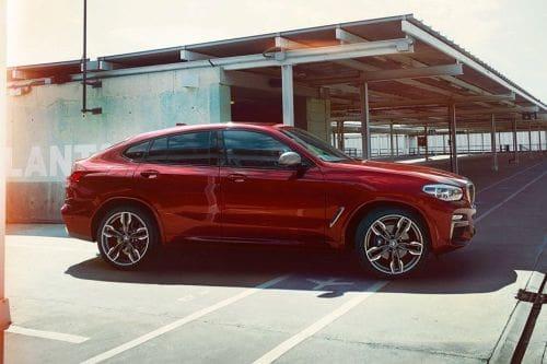 Tampak depan medium BMW X4
