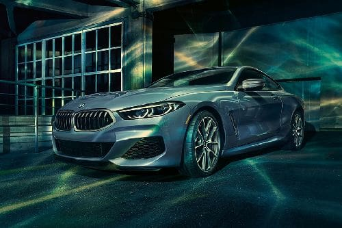 BMW 8 Series Coupe Front Side View