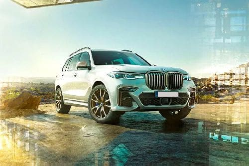 Tampak Depan Bawah BMW X7