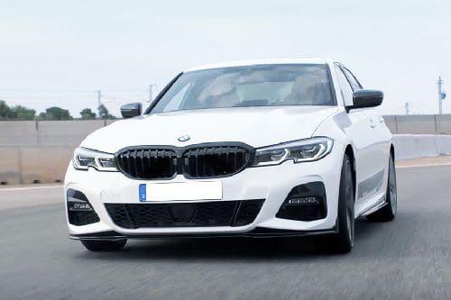 BMW 3 Series Sedan Front Side View