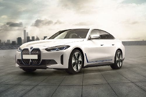 BMW i4 Front Side View