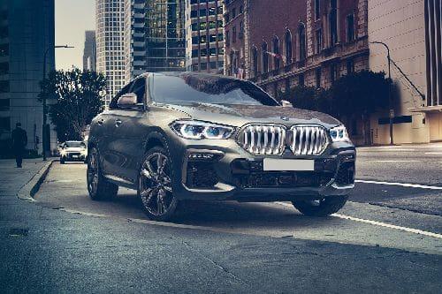 Tampak Depan Bawah BMW X6
