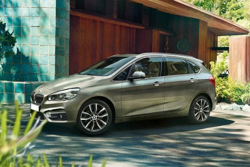 2 Series Active Tourer Front angle low view
