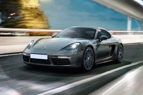 Tampak Depan Bawah Porsche 718