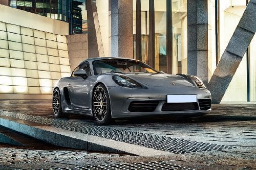 Porsche 718 Front Cross Side View