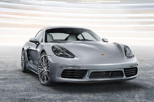 Tampak depan medium Porsche 718