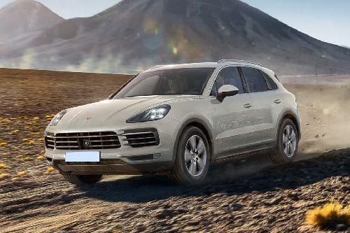 Tampak Depan Bawah Porsche Cayenne