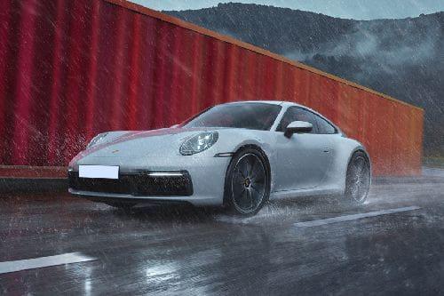 Tampak Depan Bawah Porsche 911