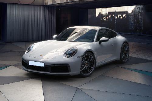 Porsche 911 Front Side View