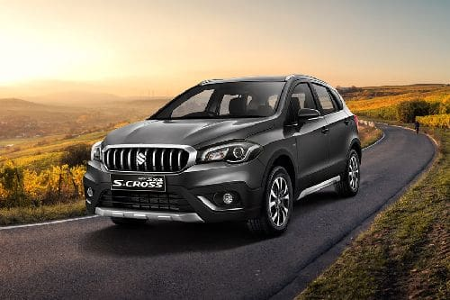 SX4 S Cross Front angle low view