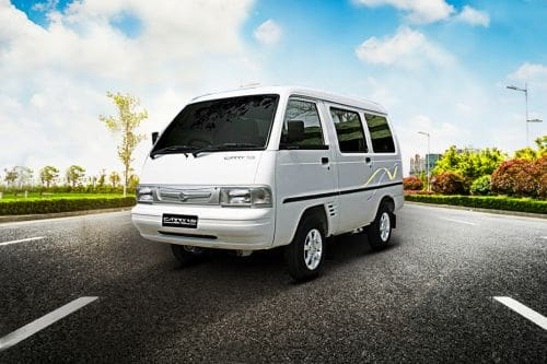 Carry 1.5 Real Van Front angle low view