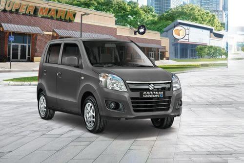 Suzuki Karimun Wagon R Front Cross Side View