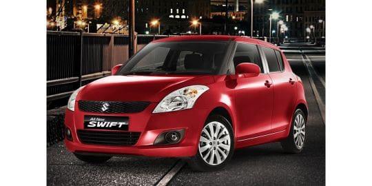 Tampak Depan Bawah Suzuki Swift