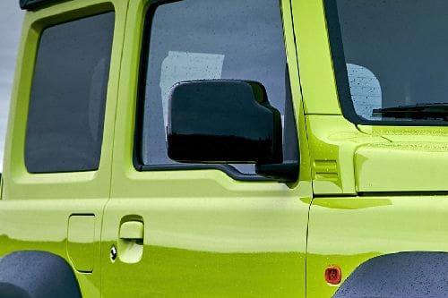 Suzuki Jimny Drivers Side Mirror Front Angle
