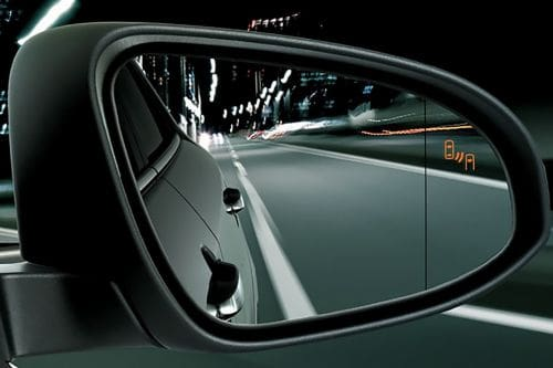 Toyota CHR Drivers Side Mirror Rear Angle