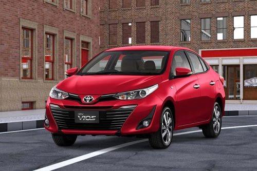 Toyota Vios Side Medium View