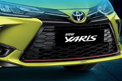 Yaris Grille View