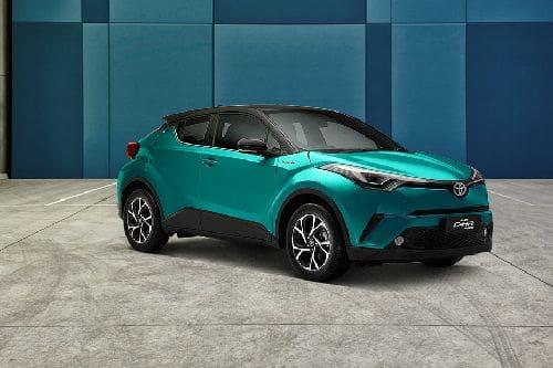 Tampak depan medium Toyota CHR Hybrid