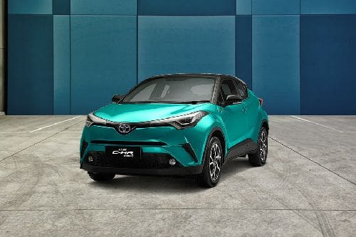 Toyota CHR Hybrid Front Side View