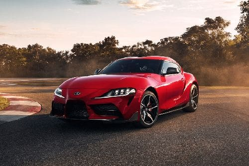 GR Supra Front angle low view