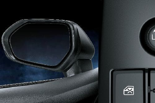 Toyota Camry Hybrid Drivers Side Mirror Rear Angle