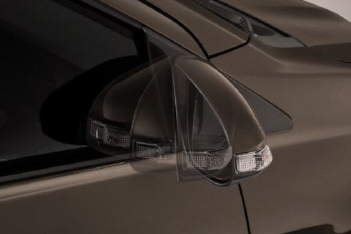 Toyota Calya Drivers Side Mirror Front Angle