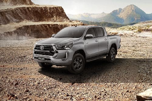 Tampak Depan Bawah Toyota Hilux