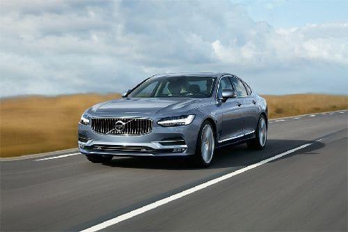 Tampak Depan Bawah Volvo S90