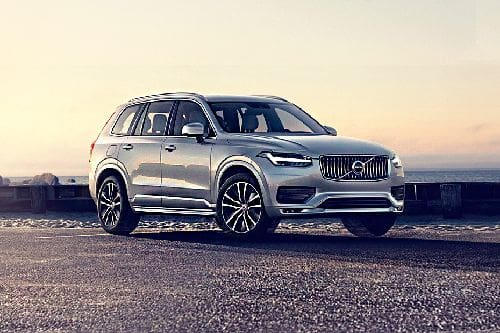 XC90 Front angle low view