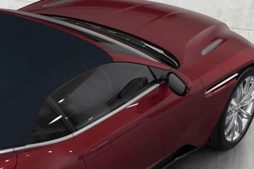 Aston Martin DB11 Drivers Side Mirror Rear Angle