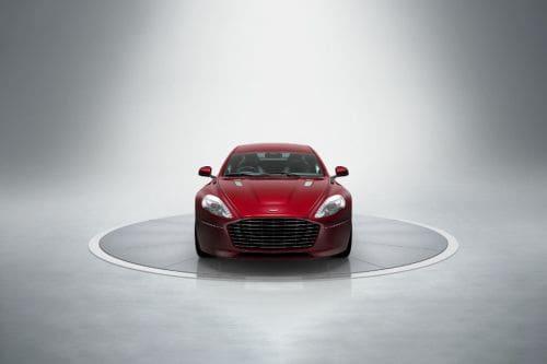 Tampak Depan Aston Martin Rapide S