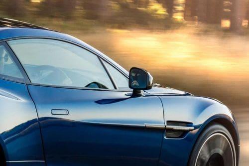 Aston Martin Vanquish Drivers Side Mirror Rear Angle