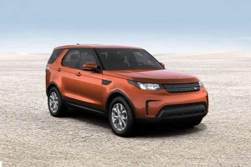 Land Rover Discovery Front Cross Side View
