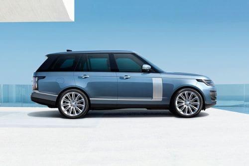 Tampak kanan Land Rover Range Rover