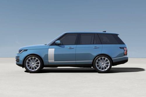 Tampak samping Range Rover