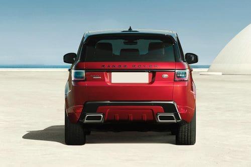Tampak belakang Range Rover Sport