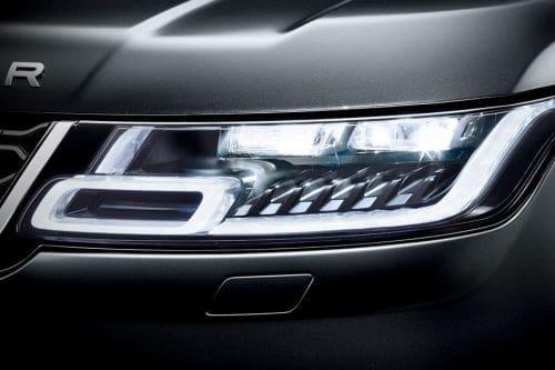 Lampu depan Range Rover Sport