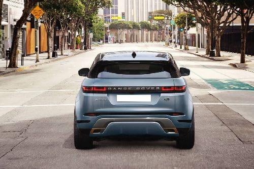Tampak belakang Range Rover Evoque