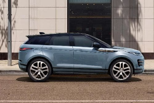Tampak depan medum angle Range Rover Evoque