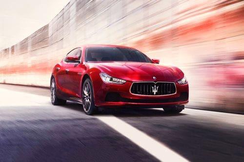 Tampak Depan Bawah Maserati Ghibli