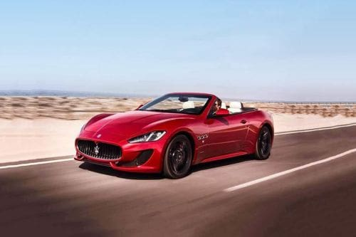 GranCabrio Front angle low view