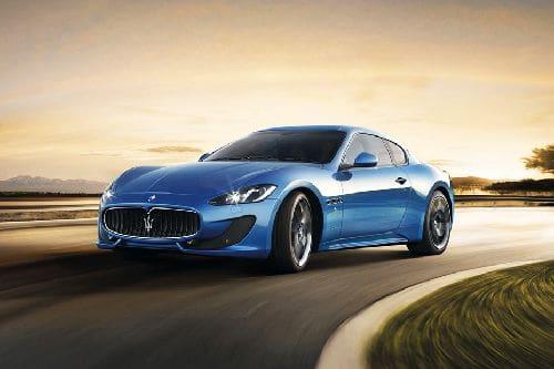 Tampak Depan Bawah Maserati GranTurismo