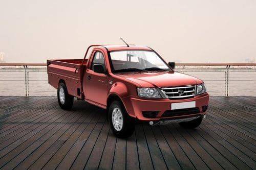 Tata Xenon Front Cross Side View