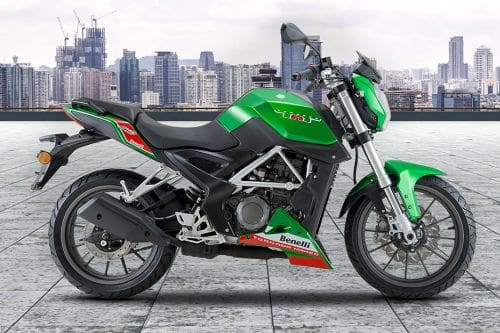 Benelli TNT 25 Right Side Viewfull Image