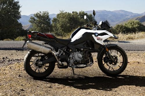 BMW F 750 GS Right Side Viewfull Image