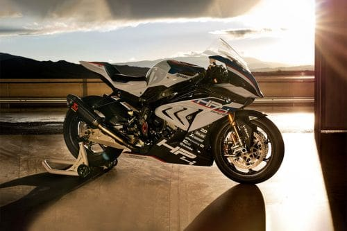 BMW HP4 Race Slant Rear View Full Image