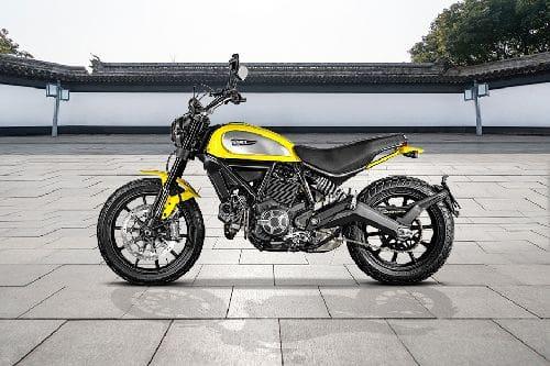 Samping Kiri Ducati Scrambler Icon
